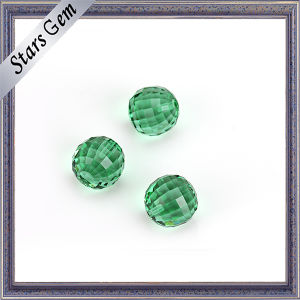New Product Faceted Cut Round Glass Ball pictures & photos