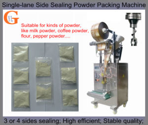 Maxwell Coffee Powder Packing Machine (4 sides sealing; PLC control;) pictures & photos