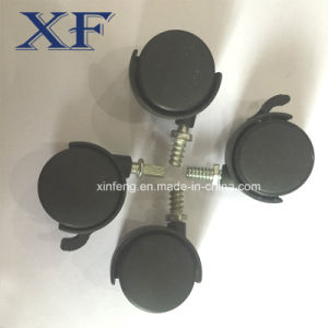 30-50mm Nylon Caster with Grey and Black pictures & photos