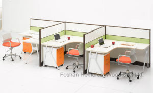 Modern Modular Office Layout Computer Workstation Divider Furniture (HF-LTP006) pictures & photos