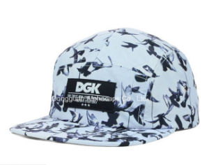 2016 Fashion Hat Screen Print White/Black Camper Cap pictures & photos