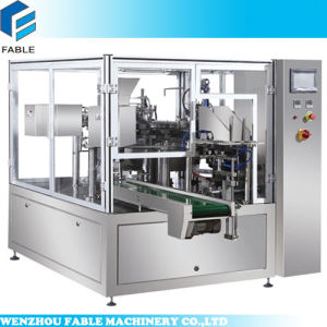 Premade Bag Filling Sealing Machine for Paste (FA8-200-L) pictures & photos