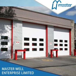 PU Foam High Speed Heat Preservation Industrial Garage Door Supplier pictures & photos