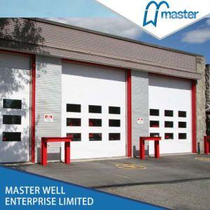 PU Foam High Speed Heat Preservation Industrial Garage Door Supplier pictures & photos