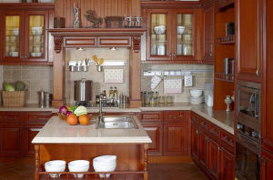 2016 Home Renovation Classic Solid Wood Kitchen Cabinet on Sale pictures & photos