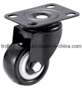 1 1/2 Inch Light Duty PVC Swivel Caster Wheel pictures & photos