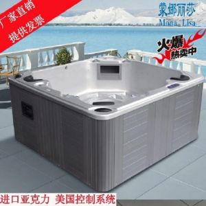Monalisa Outdoor Jacuzzi SPA with Wirlpool Massage M-3314A pictures & photos