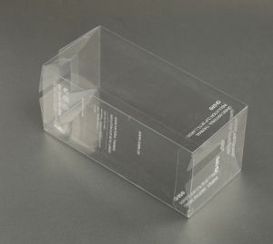 silk printing custom plastic PVC/PP/PET packing box (gift package) pictures & photos