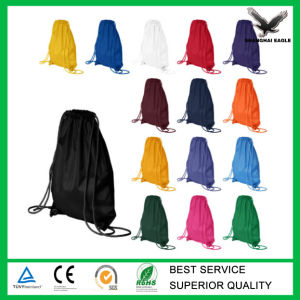 China Custom Plain Drawstring Bag Manufacture pictures & photos