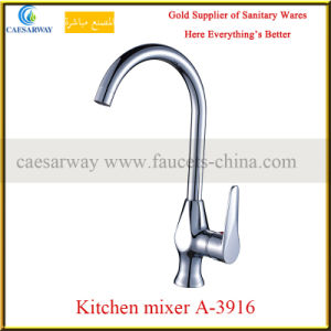 Brass Single Handle Basin&Kitchen Faucets Mixers pictures & photos