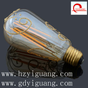 Hot Sell Dimmable LED Light Lamp St64 pictures & photos
