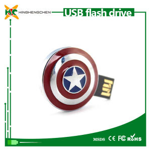 Captain America Shield Bulk USB Flash Drive Pen Drive pictures & photos