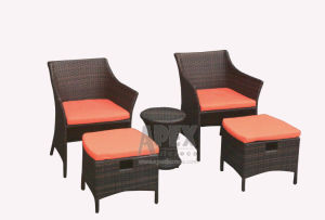 New Design Balcony Sofa Set Rattan Furniture Outdoor Furniture Sofa pictures & photos