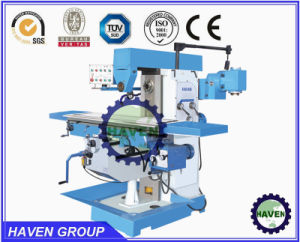 Universal Rotary-Head Knee-Type Milling Machine, Heavy Duty Milling Machine pictures & photos