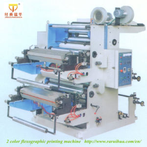 Best Brand 2 Color Rolling Printing Machine 2 Color Printing Machine pictures & photos