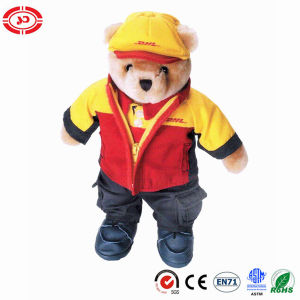 Post Office DHL Courier Guy Toy Teddy Shape Bear pictures & photos