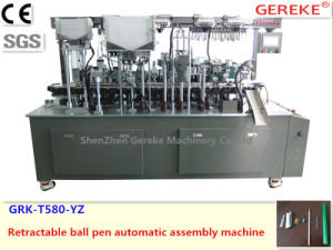 Stationery Pen Equipment-Retractable Ball Pen Automatic Assembly Machinery pictures & photos