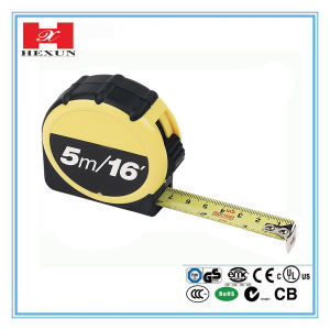 High Quality Rubber-Covered Self-Lock Hand Tools Measure Tape pictures & photos