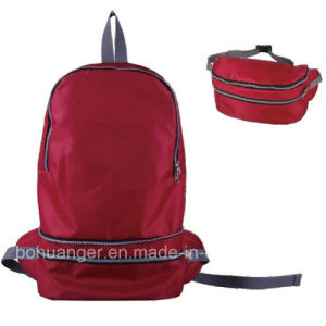 Double Usages Foldable Backpack for Outdoor Sports