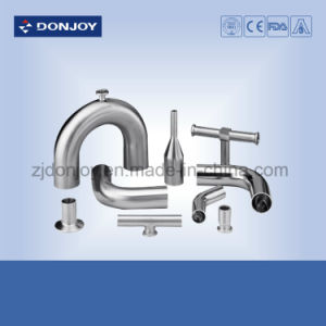 DIN Clamp Tee Stainless Steel Sanitary Pipe Fittings pictures & photos