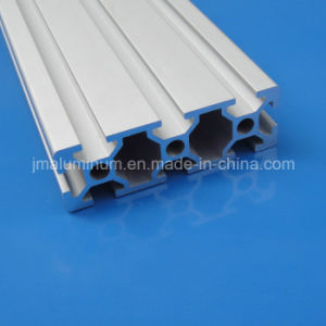 20mmx60mm Aluminum Section Profile with Groove 6mm Slot pictures & photos