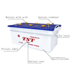 Good Sale 12V Dry Car Storage Battery N200 12V200ah pictures & photos