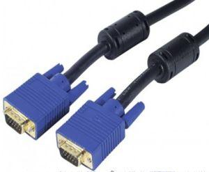 VGA 15pin Male to Male Cable 3+6 OFC Copper Conductor