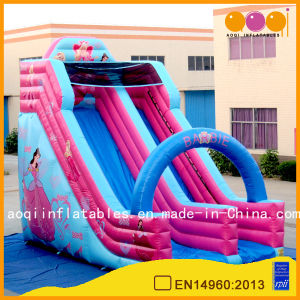 Outdoor Sport Game Princess Inflatabe Slide (AQ1149-5) pictures & photos