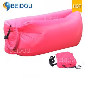 Beach Bed Lazy Bed Laybag Bean Bags Inflatable Air Sofa Bed Inflatable Banana Sleeping Bag
