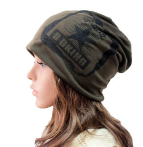 Fashion Printed Cotton Knitted Winter Warm Ski Sports Hat (YKY3133) pictures & photos
