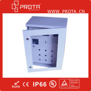 IP66 Plexiglass Door and Inner Door Metal Electrical Distribution Box pictures & photos