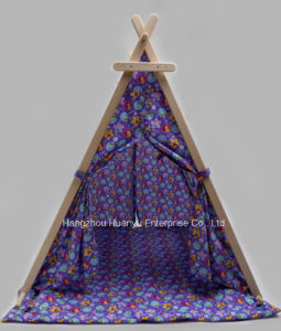 High Quality Printed Tent with Triangle Shape pictures & photos