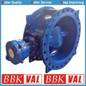 Butterfly Valve Double Flange Double Eccentric Butterfly Valve pictures & photos