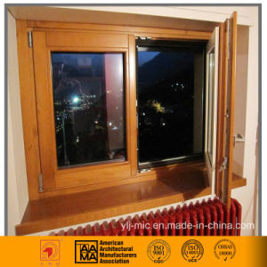 Thermal Break Aluminum Casement Window (single/double/triple glazed) pictures & photos