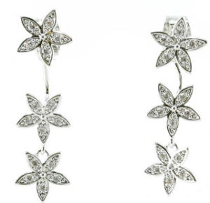 Flower Shape and New Hot Trendy Delicate Jewelry Sweet Flower Stud Earring E6730 pictures & photos