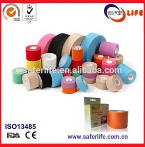 CE FDA Approved Waterproof Muscle Therapeutic Kinesiology Tape pictures & photos
