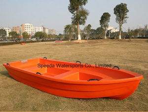 Hot Selling 4m Chinese PE Boat Pontoon Plastic Fishing Boat for Sale pictures & photos