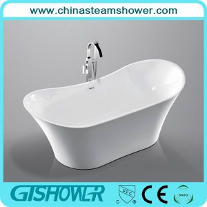 Contemporary Acrylic Oval Shape Hotel Bathtub (KF-722) pictures & photos
