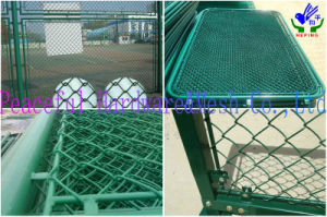 Manufacturer PVC Coated Chain Liink Fence for Sports pictures & photos