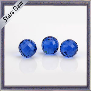 12mm Blue Color Round Good Quality Glass Gemstone pictures & photos