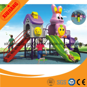 Custom Big Newest Commercial Plastic Various Kids Outdoor Playground with Low Price pictures & photos