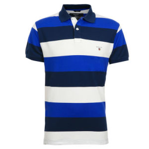 BSCI Men Fashion Yarn Dye Polo T-Shirt pictures & photos
