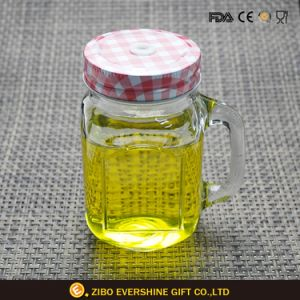 Hot Selling Square Transparent Glass Mason Jar pictures & photos