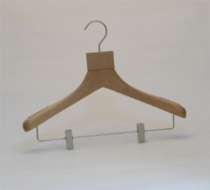 Luxury Wooden Top Hangers for Garment Stores pictures & photos
