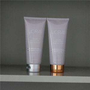 Metallic Cap Plastic Cosmetics Packaging Tube pictures & photos