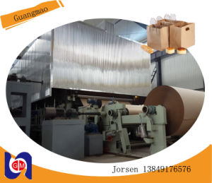 Corrugated Fluting Paper Making Machine, Waste Paper and Cardboard Recycling Line pictures & photos