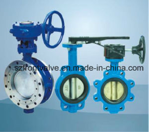 Single Flanged Ductile Iron Butterfly Valve pictures & photos