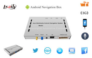 Car GPS Android Navigation System Box for Jvc with WiFi/Touch Screen/1080P pictures & photos