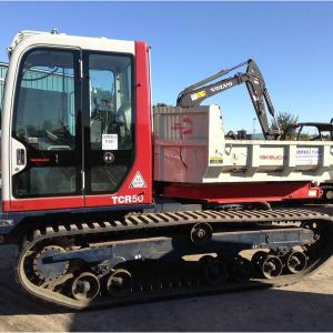 Takeuchi TCR50/Yanmar C50r-1 Dumper Rubber Track (450*110*74) pictures & photos