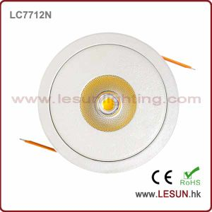 Recessed Instal 12W Dimmable COB LED Ceiling Downlight LC7718d pictures & photos
